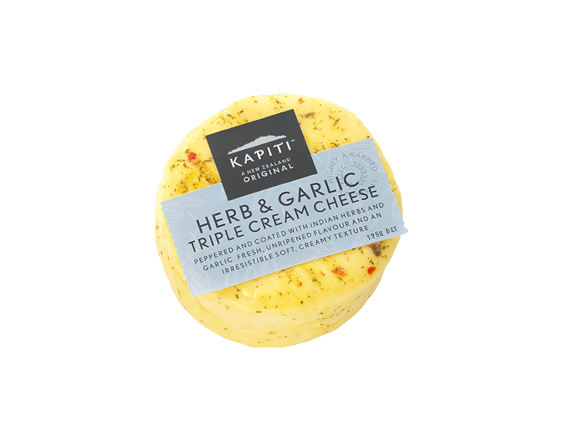 Kapiti Herb & Garlic Triple Cream Cheese